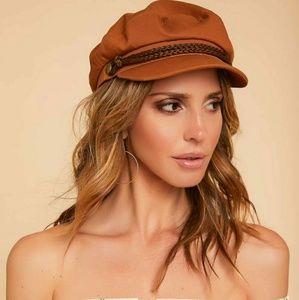 Brixton fiddler hat in cumin copper
